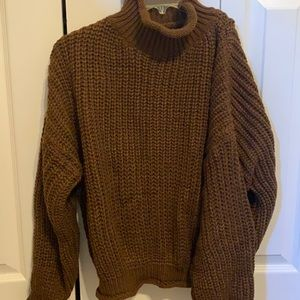 Brown long thick long sleeve